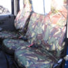 Land Rover Defender Camouflage Seat Covers