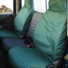 Land Rover Defender Green Seat Covers