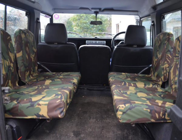 Land Rover Defender Inward Facing Seat Covers - Camouflage