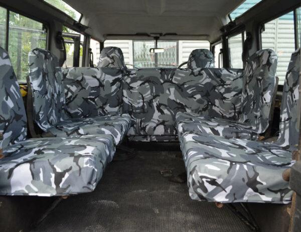 Land Rover Defender Inward Facing Seat Covers