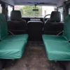 Land Rover Defender Inward Facing Seat Covers - Green