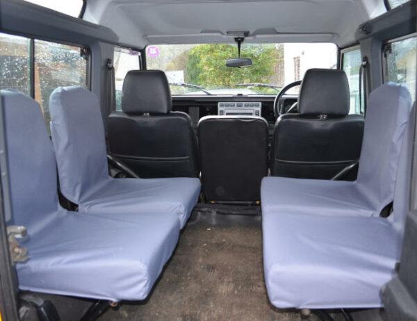 Land Rover Defender Inward Facing Seat Covers - Grey