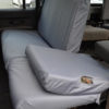 Land Rover Defender Rear Seat Covers - Grey