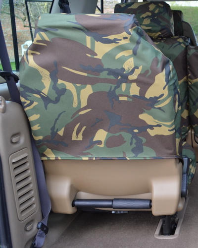 Land Rover Discovery II Seat Covers - 3rd Row Green