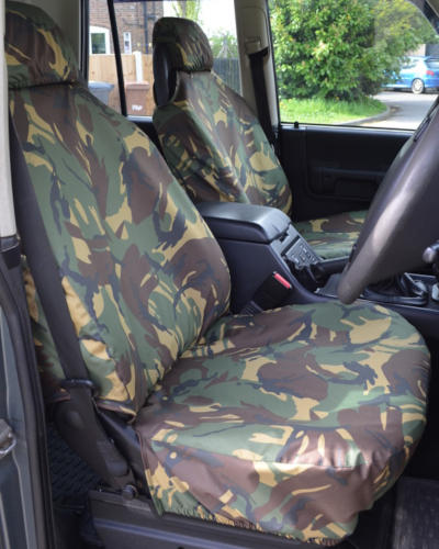 Land Rover Discovery 2 Camo Seat Covers