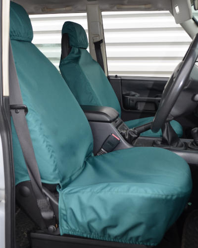 Land Rover Discovery 2 Green Seat Covers