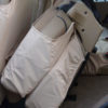 Land Rover Discovery Seat Covers - Beige Rear