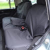 Land Rover Discovery Seat Covers - Rear Black