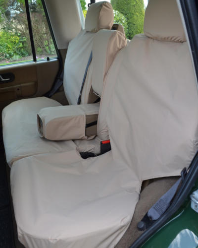 Land Rover Discovery II Seat Covers - Waterproof Rear