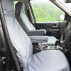 Discovery 3 Grey Front Seat Covers with Armrests