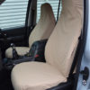 Discovery 3 Cream Front Seat Covers without Armrests