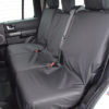 Discovery LR3 Black Waterproof Covers for 3 Rear Seats