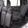 Discovery LR3 Black Waterproof Rear Seat Covers
