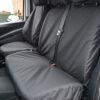 Mercedes Vito Double Passenger Seat Cover - Black