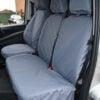 Mercedes Vito Double Passenger Seat Cover - Grey