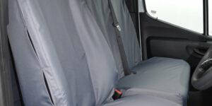 Mercedes Sprinter Van Seat Covers in Grey