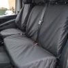 Mercedes Vito Van Passenger Seat Cover in Black