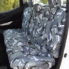 X-Class Pickup Truck Tailored Seat Covers in Camo