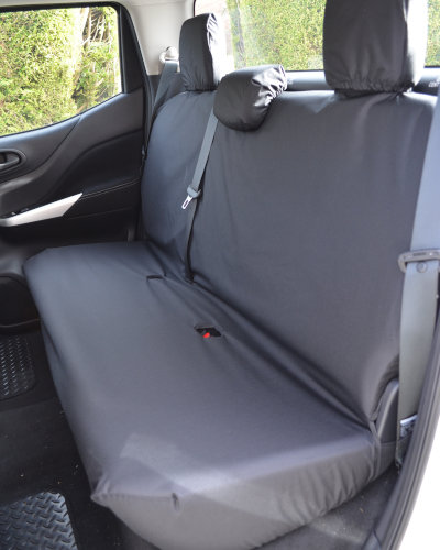 X-Class Pickup Truck Tailored Seat Covers in Black