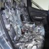 Mitsubishi L200 Camouflage Rear Seat Cover