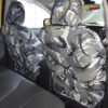 Grey Camouflage Seat Covers for L200