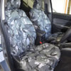 L200 Tailored Seat Covers in Grey Camouflage