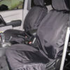 Mitsubishi L200 Seat Covers - Black