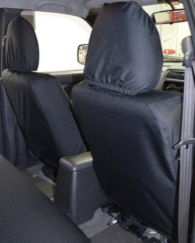 Black Seat Covers - L200 Pickup Truck