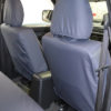Grey Waterproof Seat Covers for L200