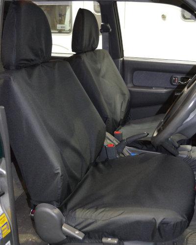 L200 Waterproof Seat Covers - Black