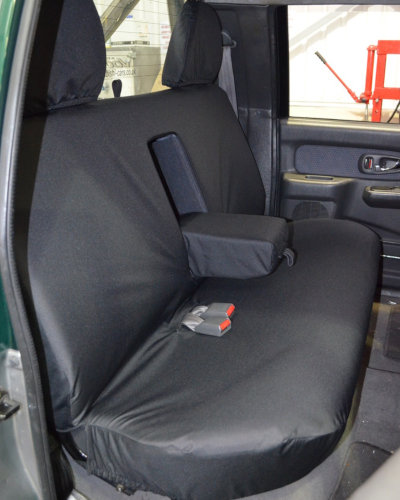 Rear Seat Cover in Black for L200 Pickup Truck 1996-2005