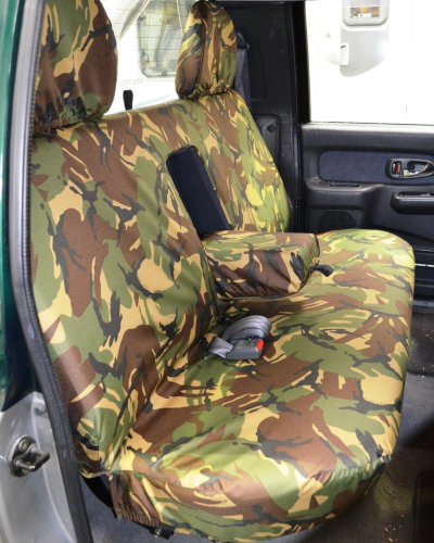 Green Camo Rear Seat Cover - L200 1996 to 2005