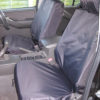 Navara D40 Front Seat Covers - Black