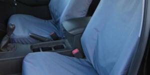 Navara D40 Front Seat Covers - Grey