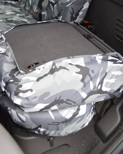 Navara D40 Seat Covers for Fold Down Rear Seat
