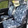 Navara NP300 Front Seat Covers - Camo