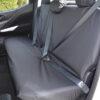 Navara NP300 Rear Seat Cover in Black