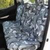 Navara NP300 Rear Seat Cover in Camo