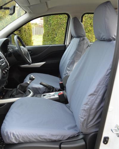 Navara NP300 Front Seat Covers - Grey