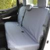 Nissan Navara NP300 Rear Seat Cover in Grey