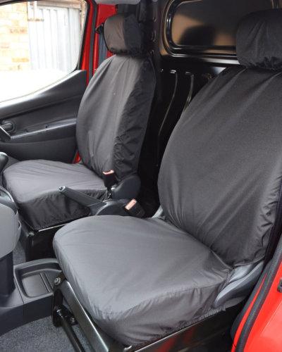 Nissan NV200 Van Seat Covers in Black