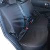 Nissan Qashqai Waterproof Rear Seat Covers - Black