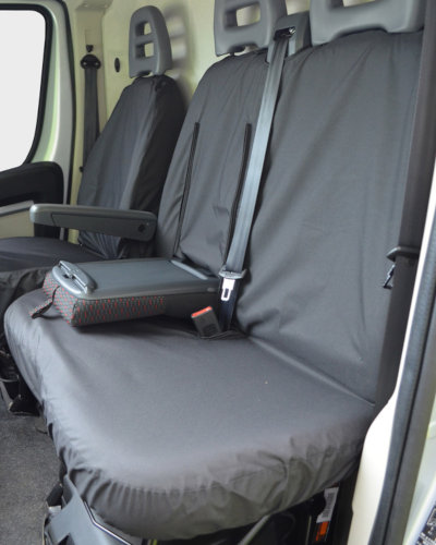 Peugeot Boxer Dual Passenger Seat Cover with Table