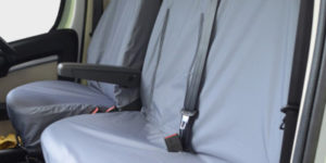 Peugeot Boxer Grey Waterproof Seat Covers
