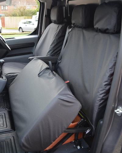 Peugeot Expert Tailored Van Dual Seat Cover