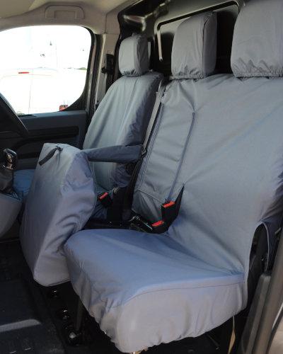 Peugeot Expert Panel Van Grey Seat Cover