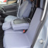 Grey Tailored Seat Covers - Peugeot Partner Van