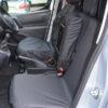 Black Tailored Seat Covers - Peugeot Partner Van