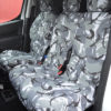 Peugeot Partner Van Seat Covers - Camouflage Grey