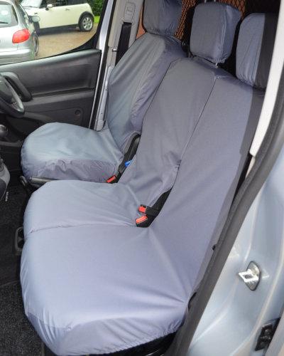 Peugeot Partner Van Seat Covers - Grey
